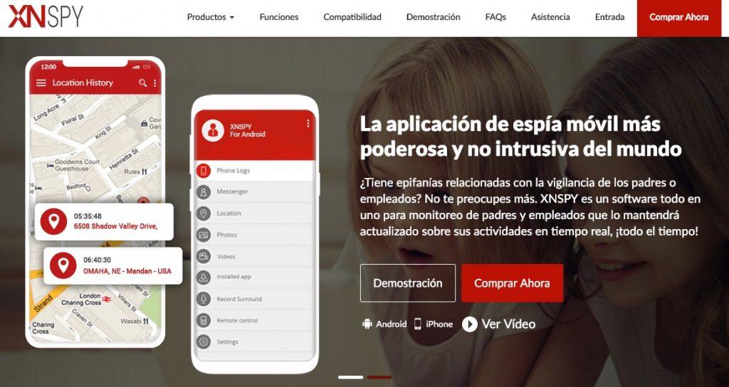 XNSPY Una aplicación de espionaje con las mejores funciones